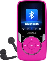 Difrnce MP1818 4GB Roze - bluetooth MP4 speler