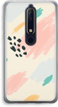 Nokia 6 (2018) Transparant Hoesje (Soft) - Sunday Chillings