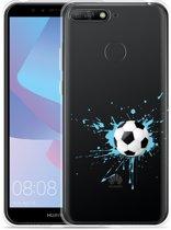 Huawei Y6 2018 Hoesje Soccer Ball