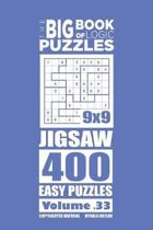 The Big Book of Logic Puzzles - Jigsaw 400 Easy (Volume 33)