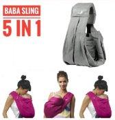 Draagdoek-Babydrager-Heupdrager-Baby-Buikdrager-Mini-sling-Bl