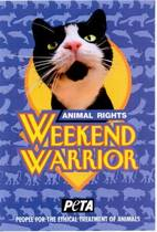 Animal Rights Weekend Warrior