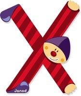 Janod Clown Letter - letter X