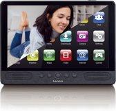 Lenco TDV-1000 - Portable DVD-speler met touchscreen, wifi en Android 7 - 10 inch - Zwart