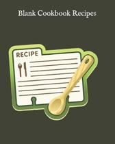 Blank Cookbook Recipes
