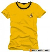 STAR TREK - T-Shirt Yellow Kirk Uniform (L)