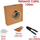 Multi-Kabel Cat6 kabel 100m