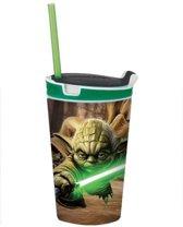 Snackeez Yoda Star Wars Drinkbeker en snackbox in 1
