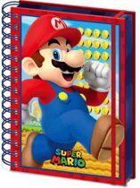 Hole In The Wall Super Mario Mario - A5 3D Lenticular Notitieboek