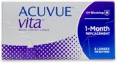 S +5.25 - Acuvue VITA - 6 pack - Maandlenzen - Contactlenzen - BC 8.8