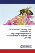 Exposure of Honey Bee Colonies to Organophosphorous Insecticides in Egypt and Canada
