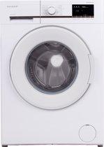 Sharp ESGFB8143W3BX - Wasmachine - wit