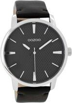 OOZOO Timepieces Zwart horloge  (45 mm) - Zwart