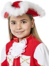Dansmarieke hoed rood voor meisjes