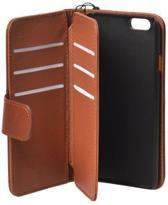 ZAYO - iPhone 6 Hoes Multi Pas houder Case - Bruin - Wallet Case