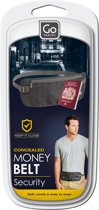 Go Travel - Geldgordel - Money belt - Antraciet