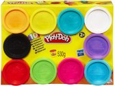 Play-Doh 10 kleuren potjes - 530 gram - Klei