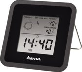 Hama Thermo/Hygrometer Th50 - Zwart