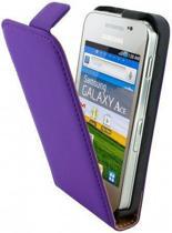 Mobiparts Premium Flip Case Samsung Galaxy Ace Purple
