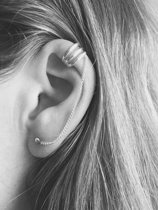Ear cuff chain