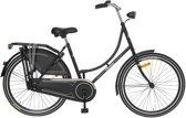 Wheelerz Kinder Oma fiets 26 inch  Mat zwart