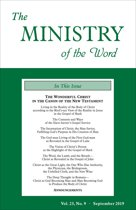 The Ministry of the Word, Vol. 23, No. 9