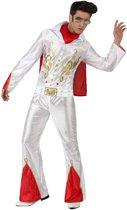 Kostuum van een rock & roll zanger voor mannen - Verkleedkleding - XL