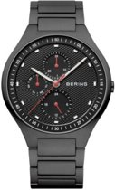 BERING 11741-772 - Horloge - Titanium - Zwart - 41 mm