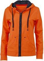 Oranje Urban damesvest S
