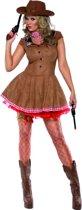 Sexy cowgirl jurkje | Cowboy verkleedkleding dames maat M (40-42)