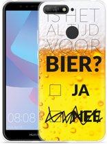 Huawei Y6 2018 Hoesje Is het al tijd voor bier?