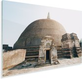 Oude Sri Lankaasne dagoba in Polonnaruwa Plexiglas 30x20 cm - klein - Foto print op Glas (Plexiglas wanddecoratie)