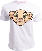 The Lion King Dames Tshirt -2XL- Nala Wit