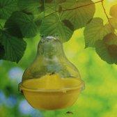 Wespenvanger hangpot geel - set van 2 stuks
