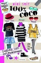 Boek cover 100% - 100% Coco van Niki Smit