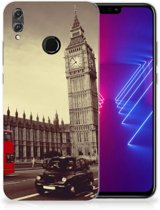 Honor 8X Siliconen Back Cover Londen
