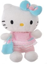 Hello Kitty Knuffel Bean Bag Meisjes Lichtblauw 15cm