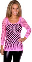 Netshirt, neon pink
