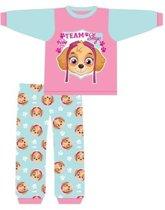 Paw Patrol pyama maat 74 - roze - Team Skye pyjama