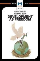 Boek cover Development as Freedom van Janna Miletzki