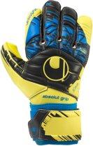 Uhlsport Speed Up Absolutgrip HN  Keepershandschoenen - Unisex - geel/zwart/blauw Maat 10