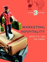 Marketing Hospitality 3E