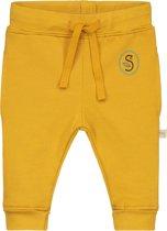 Smitten Organic - Joggingbroek - Sea Anemone Yellow - Maat 92