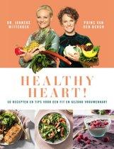Boek cover Healthy heart van Janneke Wittekoek (Hardcover)