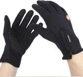 Afbeelding van Waterafstotend & Windproof Thermische Touchscreen Handschoenen I Zwart I SMALL