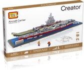 Vliegdekschip, aircraft carrier, Loz Creator Series