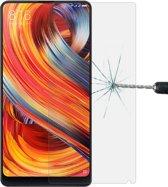 Let op type!! Voor Xiaomi Mi MIX 2 0 26 mm 9H oppervlaktehardheid 2.5D gebogen rand gehard glas Screen Protector