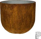 Pottery Pots Bloempot-Plantenbak Cody Roestbruin-Bruin D 42 cm H 37 cm