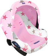 Dooky Combi Pack - Hoody & Seat Cover 0+ - Pink Stars