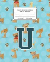 Primary Composition Notebook Grades K-2 Story Journal U